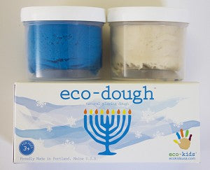 "Eco-Kids Eco-Dough 2 Pack ""Hanukkah"""
