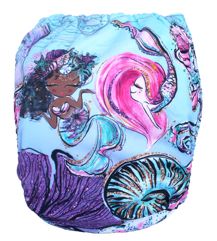 "Fluffy Penguin Pocket ""Fabulous Mermaids"""