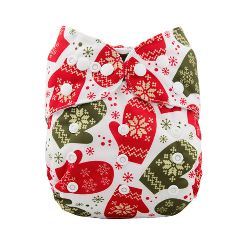 "Alva Pocket ""Christmas Mittens"""