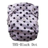 "THX Newborn Charcoal All-In-One ""Dot"""