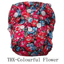 "THX Newborn All-In-One ""Colorful Flowers"""