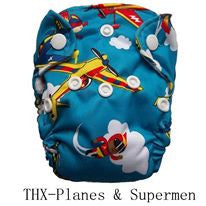 "THX Newborn All-In-One ""Planes"""