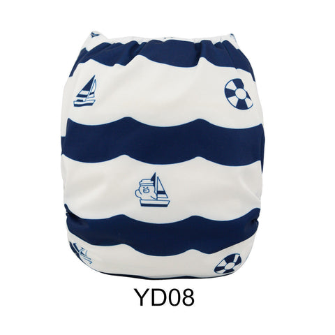 "Alva Pocket ""Nautical Stripes"""