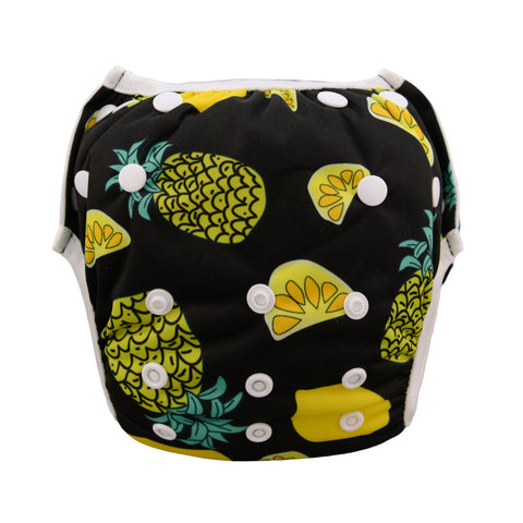 "Alva Swim Diaper ""Pineapples"""