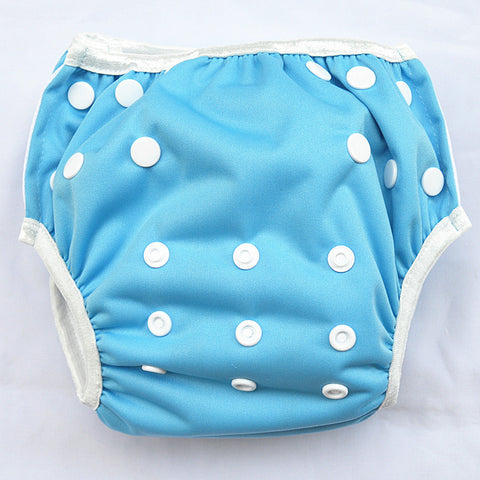 "Sigzagor Swim Diaper ""Sky Blue"""