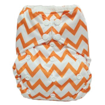 "THX One-Size All-In-One ""Orange Chevrons"""