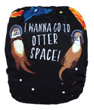 "Fluffy Penguin Cover ""Otter Space"""