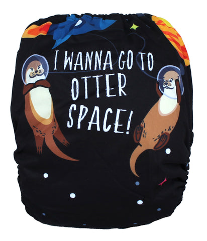 "Fluffy Penguin All in One ""Otter Space"""