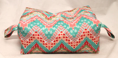 "Extended Diaper Pod ""Chevron Patterns"""