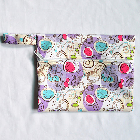 "Mini Wetbag ""Swirls"""