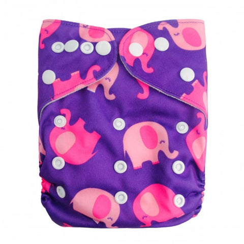 "Alva Pocket ""Pink Elephants"""