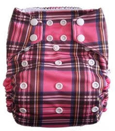 "THX One-Size All-In-One ""Pink Plaid"""