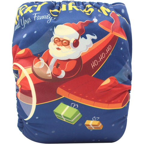 "YiFashion Pocket  ""Santa's Plane"""