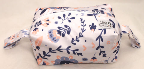 "Diaper Pod ""Purple Floral"""