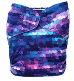 "Fluffy Penguin Snappy Ai2 ""Purple Sequins"""