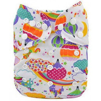 "Limited Edition - Pocket Diaper ""Magic World"""