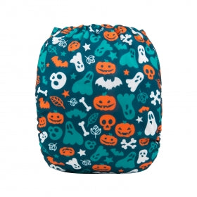 "Alva Pocket ""Ghosts and Pumpkins"""