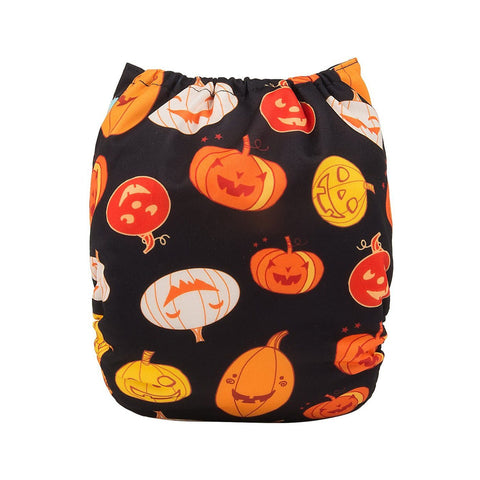 "Alva Pocket ""Laughing Pumpkins"""