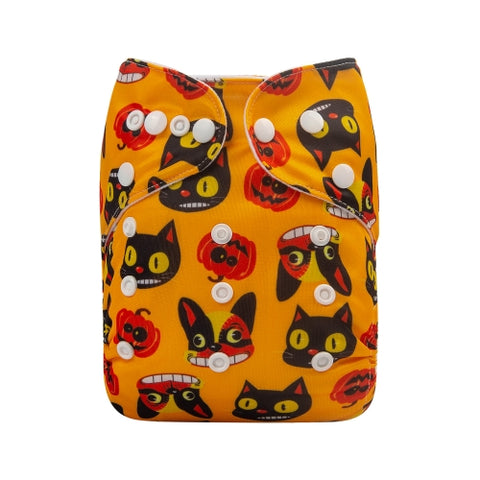 "Alva Pocket ""Halloween Faces"""