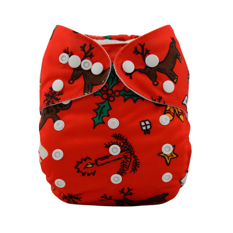 "Alva Pocket ""Red Christmas"""