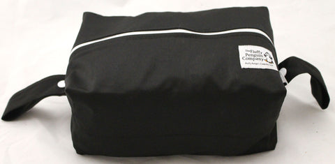 "Extended Diaper Pod ""Solid Black"""
