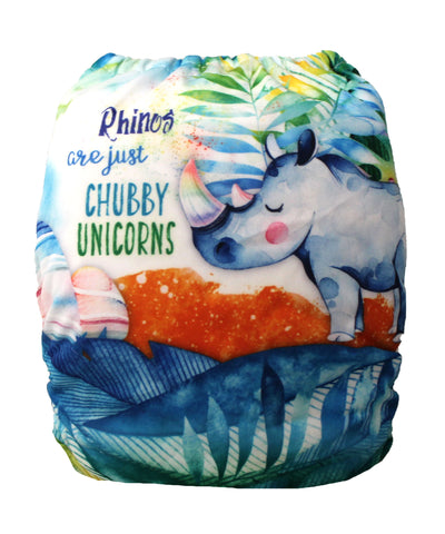 "Fluffy Penguin Pocket ""Chubby Unicorns"""