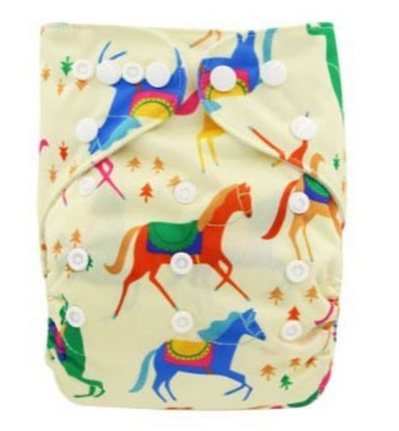 "YiFashion Pocket  ""Running Horses"""