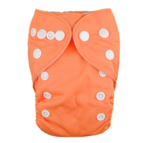 "Alva Newborn Snap Pocket ""Orange"""