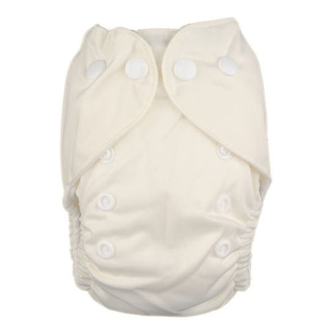 "Alva Newborn Snap Pocket ""Ivory"""