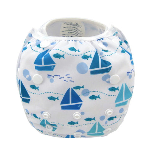 "Alva Swim Diaper ""Blue Sailing"""