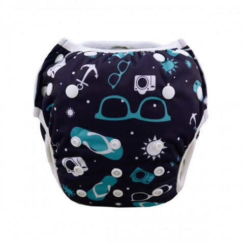 "Alva Swim Diaper ""Cool Summer"""