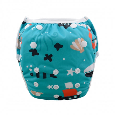 "Alva Swim Diaper ""Water Boat"""