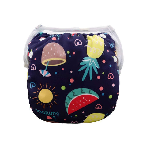 "Alva Swim Diaper ""Fruity Summer"""