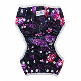 "Alva Swim Diaper ""Purple Butterflies"""