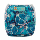 "Alva Swim Diaper ""Blue Pomegranate"""