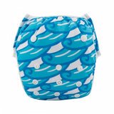"Alva Swim Diaper ""Blue Surf"""