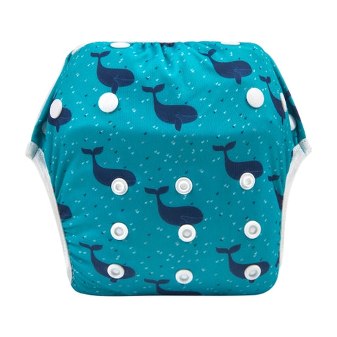 "Alva Swim Diaper ""Whale Bubbles"""