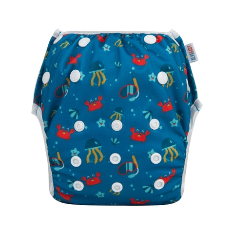"Alva Swim Diaper ""Scuba Sights"""