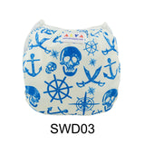 "Alva Swim Diaper ""Anchors and Things"""
