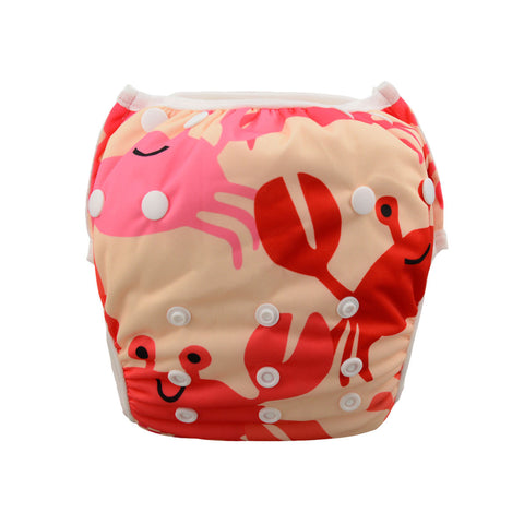 "Alva Swim Diaper ""Crabs"""
