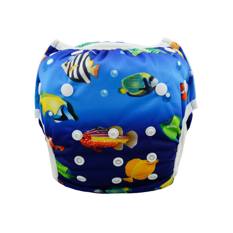 "Alva Swim Diaper ""Tropical Reef Fish"""