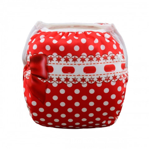 "Alva Swim Diaper ""Red Ribbon"""
