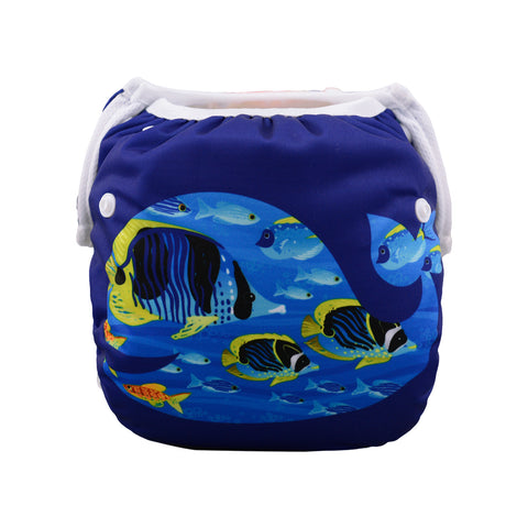 "Alva Swim Diaper ""Deep Sea Fish"""