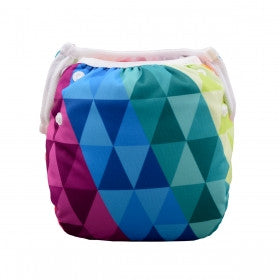 "Alva Swim Diaper ""Colorful Triangles"""