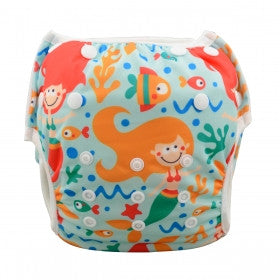 "Alva Swim Diaper ""Underwater Mermaid"""