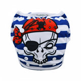 "Alva Swim Diaper ""Pirate Skull"""