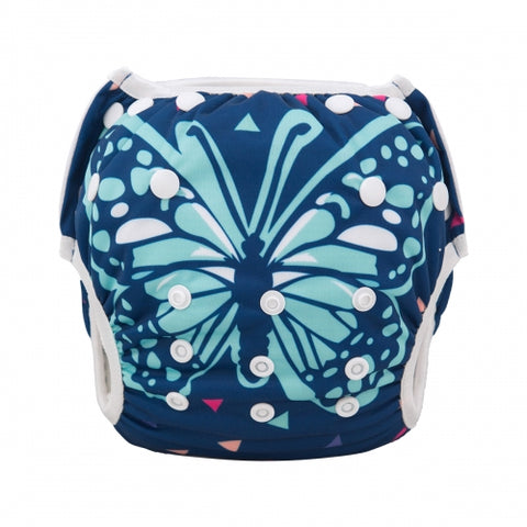 "Alva Swim Diaper ""Bright Butterfly"""