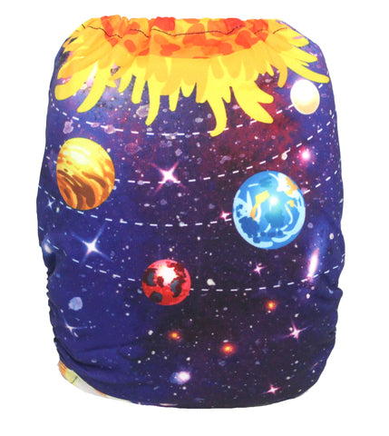 "Fluffy Penguin Pocket ""Solar System"""