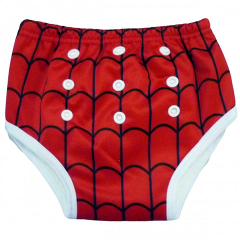 "Alva Trainer Pants ""Red Spider Web"""