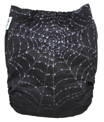 "Fluffy Penguin Pocket ""Spiderweb"""